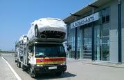 Отправка автомобилей из Владивостока,  Хабаровска и Москвы