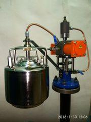 Пробоотборник автоматический «Отбор-А-Рслив»  - Отбор пробы из трубопровода»