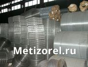 Сетка 16х24х2 мм для перепелов оцинкованная в рулонах