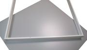 Армстронг Ledintero -595х595х40. Пластиковые боковины,  плотная основа под металлическое основание. Отгрузка склад Москва